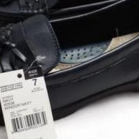 Women's size 7 navy blue shoes by Thom McAN for sale in Clinton Township MI by Garage Sale Showcase member sonya56, posted 06/06/2019