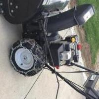 Snow Blower for sale in Ashland OH by Garage Sale Showcase member Verne Mounts, posted 06/12/2019