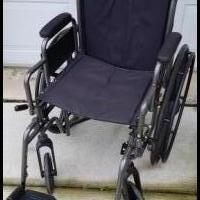Wheelchair for sale in Morris IL by Garage Sale Showcase member Peach76, posted 07/21/2019