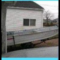 Fishing boat with trailer for sale in Xenia OH by Garage Sale Showcase member Cheri47, posted 08/07/2019