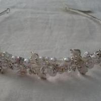 CRYSTAL and PERAL Bridal Headband for sale in Trenton NJ by Garage Sale Showcase member Gryan25, posted 05/06/2019