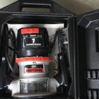 Craftsman Router for sale in South Burlington VT by Garage Sale Showcase member Cangirl, posted 06/19/2019