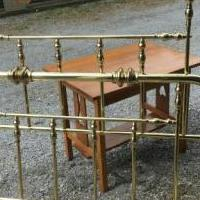 Brass Bed for sale in South Burlington VT by Garage Sale Showcase member Cangirl, posted 06/20/2019