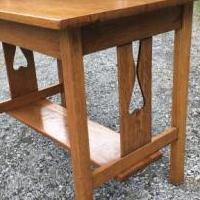 Library Solid Oak Table for sale in South Burlington VT by Garage Sale Showcase member Cangirl, posted 06/20/2019