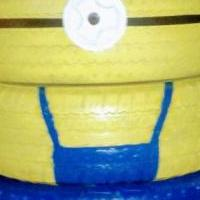 Minion Planter for sale in Seminole OK by Garage Sale Showcase member Bigbrian7544, posted 04/25/2019
