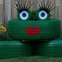 Big Frog Planter for sale in Seminole OK by Garage Sale Showcase member Bigbrian7544, posted 04/25/2019