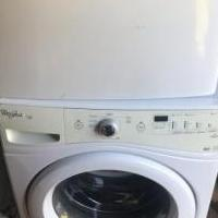 Whirlpool Washer/Dryer front load set for sale in Madison GA by Garage Sale Showcase member ARJr33, posted 05/08/2019