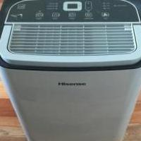 Hisense  dehumidifier for sale in New Port Richey FL by Garage Sale Showcase member Scooter, posted 08/15/2019
