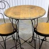 Ice Cream Taable with 2 chairs for sale in Jefferson City TN by Garage Sale Showcase member Sales1, posted 06/09/2019