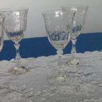 8 Fostoria Crystal Stemware for sale in Macomb MI by Garage Sale Showcase member Humpfree#5, posted 06/16/2019