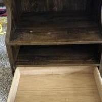 Bedside nightstand for sale in Tyler TX by Garage Sale Showcase member pdranson, posted 07/14/2019