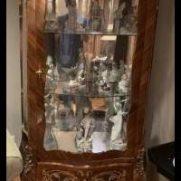 Bombay curio cabinet for sale in Morristown NJ by Garage Sale Showcase member benmorits, posted 07/14/2019