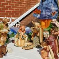 Nativity set for sale in La Follette TN by Garage Sale Showcase member Warkentine, posted 08/05/2019