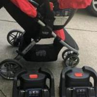 Britax Car Seat and Stroller System for sale in Fort Wayne IN by Garage Sale Showcase member sharonandersen, posted 08/11/2019