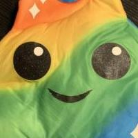 Poop emoji Halloween costume for sale in Abilene TX by Garage Sale Showcase member Lori Johnson, posted 08/14/2019