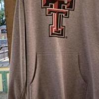 Texas tech hoodie for sale in Abilene TX by Garage Sale Showcase member Lori Johnson, posted 08/15/2019