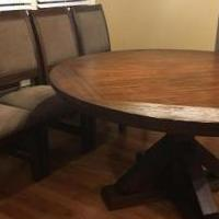 Dining Table for sale in Canton GA by Garage Sale Showcase member Chicks72, posted 04/24/2019