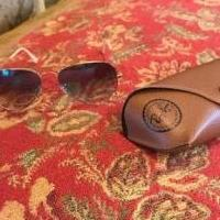RAYBAN SUNGLASSES for sale in Wills Point TX by Garage Sale Showcase member pamras, posted 04/23/2019