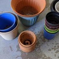Planters for sale in Middletown NY by Garage Sale Showcase member Moving430, posted 06/10/2020