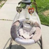 Baby Swing for sale in Brunswick GA by Garage Sale Showcase member Leshc09251929, posted 06/27/2019