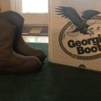 "Boys size 2 ""Georgia"" boots for sale in Brunswick GA by Garage Sale Showcase member Leshc09251929, posted 06/27/2019"