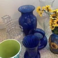 Assorted vases for sale in Montrose CO by Garage Sale Showcase member cjmckfour54, posted 05/25/2019