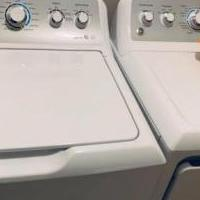 GE TOPLOAD WASHER + DRYER for sale in Noblesville IN by Garage Sale Showcase member Bellisario34, posted 06/09/2019