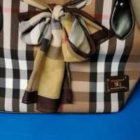 Burberry Plaid Handbag for sale in Brunswick GA by Garage Sale Showcase member NanaRee, posted 08/03/2019