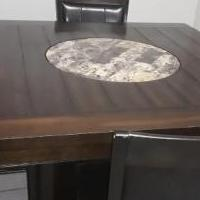 Wood dining set for sale in Brookshire TX by Garage Sale Showcase member Alijackson13, posted 12/07/2019
