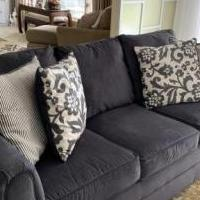 Dark Grey Sofa for sale in Fremont OH by Garage Sale Showcase member Normadave, posted 10/19/2019