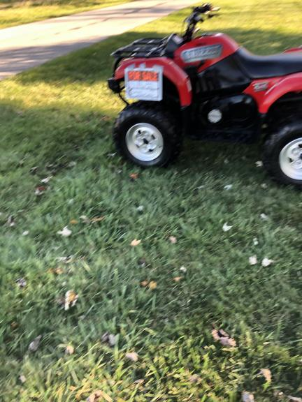 2002 ATV Yamaha Grizzly 4x4 660