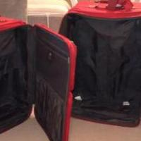 2 soft sided suitcases for sale in Leelanau County MI by Garage Sale Showcase member Dora1234, posted 11/24/2019