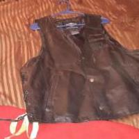 Leather biker vest for sale in Flint TX by Garage Sale Showcase member astros2019, posted 11/29/2019
