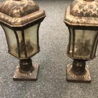 Outdoor Post Lanterns for sale in Carmel IN by Garage Sale Showcase member stacieg, posted 12/21/2019
