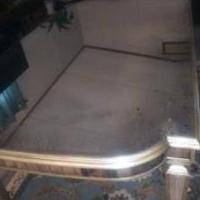 Mirrored  Glass Table for sale in Newton NC by Garage Sale Showcase member Nsf@sell12667, posted 01/15/2020