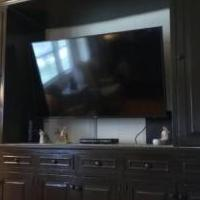 Entertainment center (solid wood) for sale in Naples FL by Garage Sale Showcase member florespcfix, posted 10/24/2019