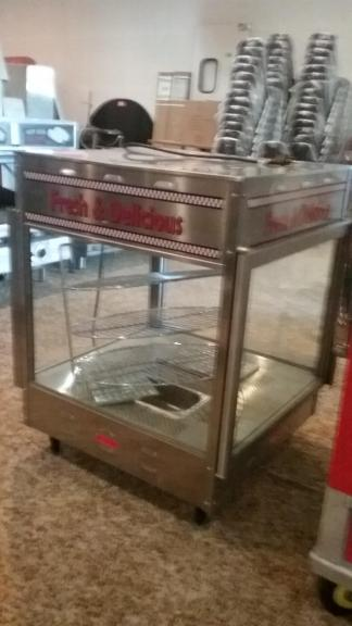 Commercial Pizza Warmer by Benchmark USA