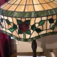 Stained Glass Table Lamp for sale in Woodstock GA by Garage Sale Showcase member MelonB, posted 10/17/2019