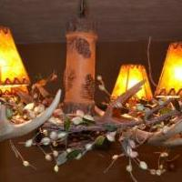 Antler chandelier for sale in Winter Park CO by Garage Sale Showcase member AlexDeleon, posted 01/29/2020