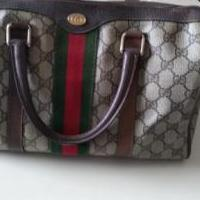 Authentic vintage Gucci bag for sale in Overland Park KS by Garage Sale Showcase member ks22225ks122519, posted 02/14/2020