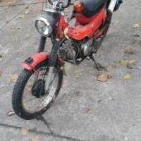 Honda 110 cc motor bike 1980 for sale in Greenville OH by Garage Sale Showcase member Small, posted 08/20/2019