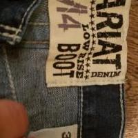 Ariat blue jeans for sale in Arkansas County AR by Garage Sale Showcase member Mjmck83, posted 08/28/2019