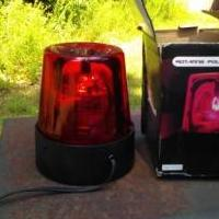 Red party light works great shape for sale in Muskegon MI by Garage Sale Showcase member Dominick, posted 09/13/2019