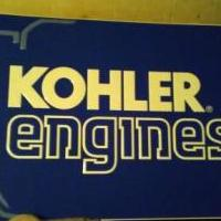 KOHLER ENGINES metal sign 3ft long 2ft wide for sale in Muskegon MI by Garage Sale Showcase member Dominick, posted 09/13/2019