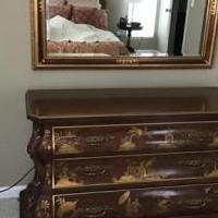 Dresser and mirror for sale in Pinehurst NC by Garage Sale Showcase member WalterH, posted 12/28/2019