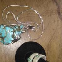 Tourquoise necklace for sale in Hitchcock County NE by Garage Sale Showcase member Mtemoke, posted 08/21/2019