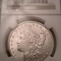 1921 Morgan Dollar graded MS69 by NGC for sale in Havertown PA by Garage Sale Showcase member joshhb8192, posted 10/23/2019