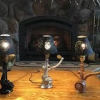 Grinder lamps for sale in Ballston Spa NY by Garage Sale Showcase member Custom maker, posted 11/22/2019