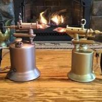 Repurposed vintage plumber torches for sale in Ballston Spa NY by Garage Sale Showcase member Custom maker, posted 11/22/2019