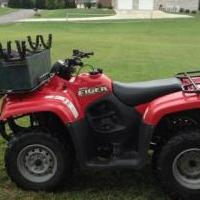 Suzuki Eiger 400 4x4 5 speed Low and Hi speed for sale in Lee County VA by Garage Sale Showcase member Jwoodard84, posted 08/30/2019